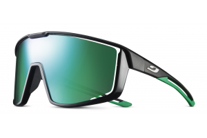 Gloss Black-Green (Lens: Spectron3 Polycarbonate)-swatch